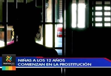Niñas de diferentes rincones del país inician en la prostitución a los 12 años