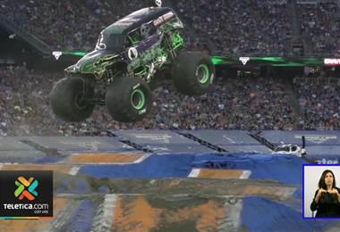 Monster Jam tiene todo preparado para darle un espectáculo a los amantes de los motores