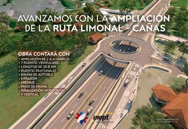 Inspección ampliación carretera Limonal-Cañas