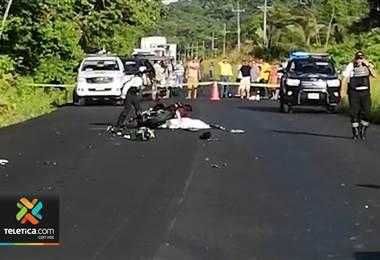Hombre fallecido y un herido tras accidente de tránsito en Osa