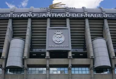 Estadio Santiago Bernabéu.|AFP