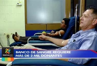 Banco de Sangre necesita más de 2.000 donantes para suplir necesidades de fin de año