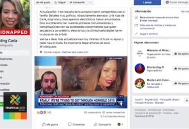 Autopsia de turista asesinada en Escazú fue cataloga como aterradora por sus familiares