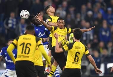 Borussia Dortmund ante el Schalke 04. |AFP