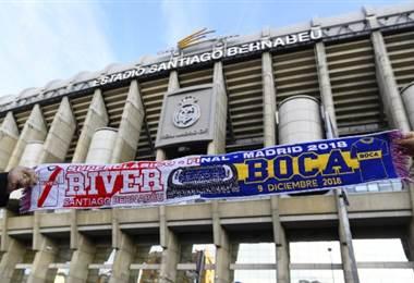 Estadio Santiago Bernabéu. AFP