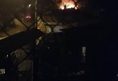 Adulto mayor fallece en un incendio en Alajuelita.