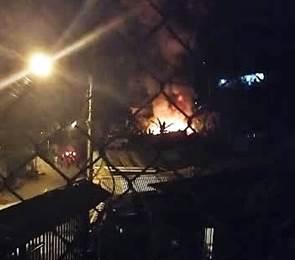 Adulto mayor fallece en incendio en Alajuelita.