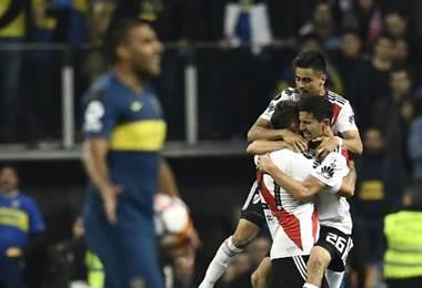 River Plate se coronó campeón de la Copa Libertadores. AFP