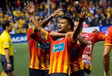 El delantero Jairo Arrieta |Prensa Club Sport Herediano.