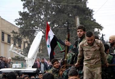 Combates continúan en Siria. AFP