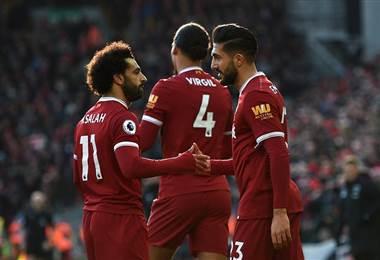 Liverpool no tuvo problemas para doblegar  4-1 sobre el West Ham en la Premier League.