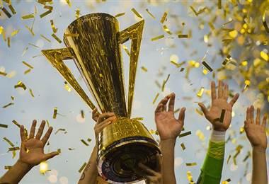 Trofeo entregado al ganador de la Copa Oro.|Concacaf