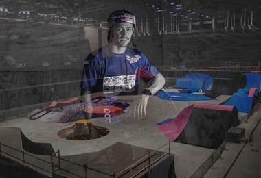 Kenneth Tencio, representante costarricense de BMX.