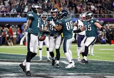 Eagles de Philadelphia ganaron el Super Bowl 2018 |AFP.