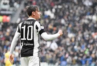 El argentino Dybala anotó un doblete en la victoria de la Juve. Tomado del Facebook de la Juventus