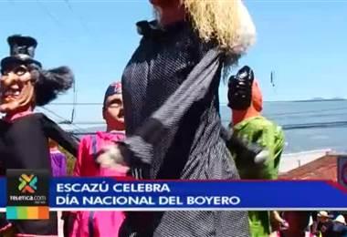Escazú celebró el día nacional del boyero en un ambiente familiar y de fiesta