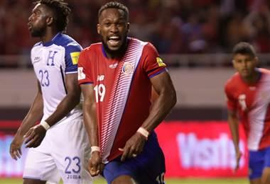 Kendall Waston, defensor de la Selección de Costa Rica.