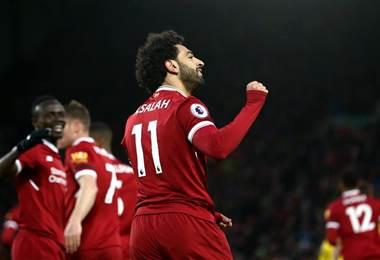 El egipcio Mohamed Salah, delantero del Liverpool.