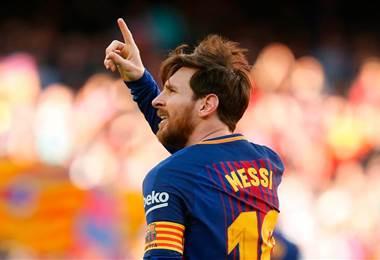 Lionel Messi, atacante del FC Barcelona.