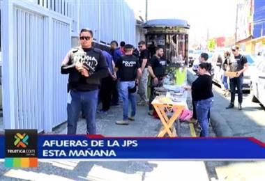 OIJ detuvo a mayorista de lotería y tres chanceros por homicidio de hombre en Hatillo