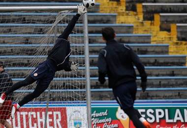 Keylor Navas, guardameta costarricense del Real Madrid.