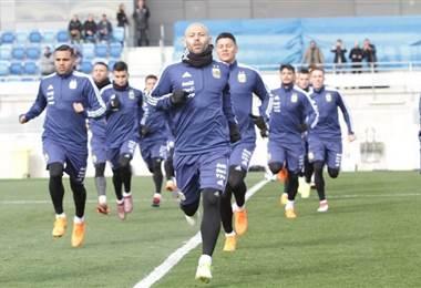 Javier Mascherano, volante de la Selección de Argentina.