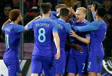 Selección de Holanda.|Facebook