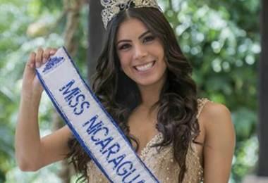 Miss Nicaragua, Adriana Paniagua.