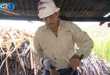En Calle Hidalgo del Rosario de Desamparados visitamos uno de los últimos trapiches de la zona para conocer a don Gerardo Mora.