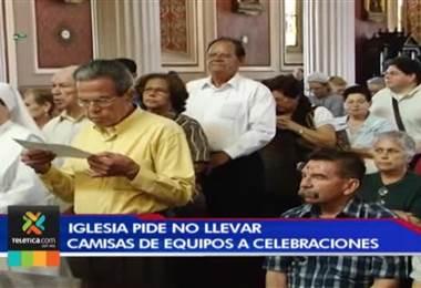 Iglesia pide a los feligreses no llevar camisas de equipos a celebraciones de Semana Santa