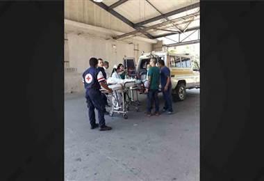 Menor de 6 meses es trasladada delicada tras accidente en una tina