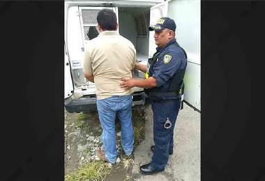 Policía detuvo a presunto agresor