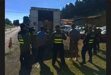 Policia decomisó tilapias, camarones y atunes presuntamente robados