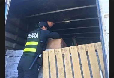 Policía decomisó tilapias, camarones y atunes presuntamente robados