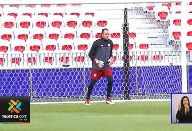 Keylor Navas está a un juego de ser el guardameta con más partidos en la Selección Nacional