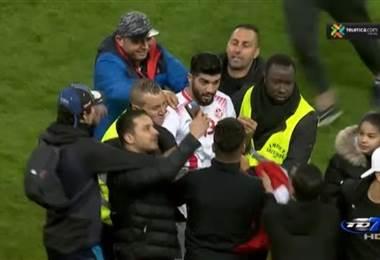 Declaraciones de seleccionados al finalizar el partido ante Túnez