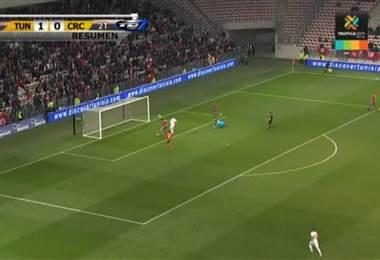 Amistoso Internacional: Túnez 1 - 0 Costa Rica 27 Marzo 2018