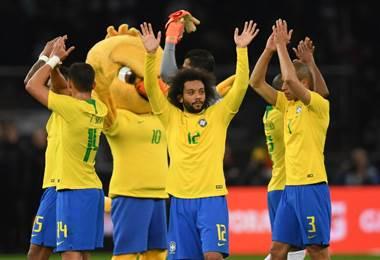 Brasil es uno de los equipos favoritos para Rusia 2018. AFP