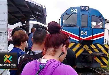 Tren no brindará servicio de pasajeros durante esta Semana Santa