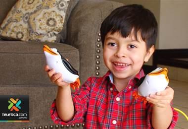 Niño que sufre extraña enfermedad requiere ayuda para recibir tratamiento en Estados Unidos