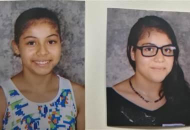 Las menores llevan desaparecidas desde el pasado 11 de marzo. Cortesía OIJ