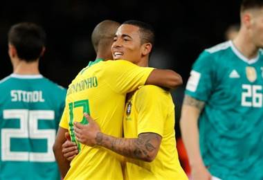 Selección de Brasil-BBC
