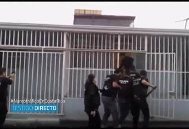 Colombianos detenidos en Costa Rica detallaron los pagos que reciben por trasladar cocaína