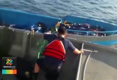 PCD y Guardacostas de Estados Unidos detuvieron barco costarricense con 240 kilos de cocaína