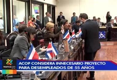 ACOP considera innecesario proyecto para proteger desempleados de 55 años