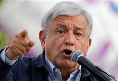 El veterano izquierdista Andrés Manuel López Obrador.
