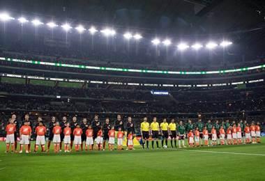 Selección de México ante Croacia.|Federación Mexicana