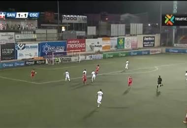 Fútbol Nacional: Santos 1 - 1 Cartaginés