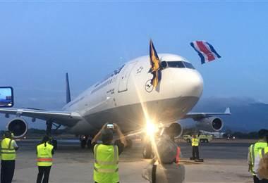 Lufthansa llega a Costa Rica