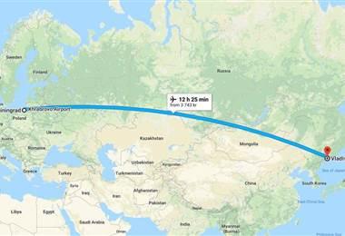 Baltika (segunda división rusa) hace viaje más largo del mundo como visitante